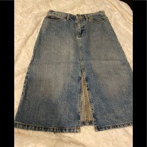 Vintage Gap Denim Skirt 4